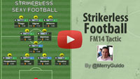 Strikerless Football in FM14