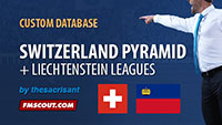 Switzerland Level 3 + Liechtenstein Leagues