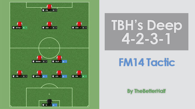 The Better Half's Deep 4-2-3-1