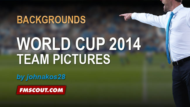 World Cup 2014 Teams Backgrounds