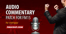 Audio Commentary Patch for FM15