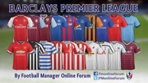 Barclays Premier League SS Kits 14/15