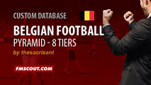 Belgium Football Pyramid for FM15