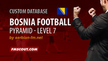 Bosnia All Leagues Playable for FM15
