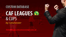 CAF African Leagues & Cups for FM15