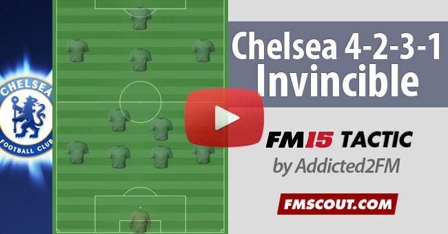 """Chelsea """"Invincible"""" 4-2DM-3-1"""