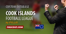 Cook Islands Football League for FM15