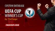 Cup Winners' Cup for FM15