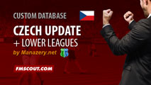 Czech Update with Lower Leagues + Winter Transfers