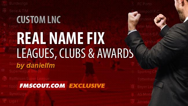 Daniel's Real Names Fix for FM15 | FM Scout