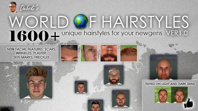 Мир Debski в причесок - Regens волос пакет для FM15