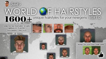 Debski's World Of Hairstyles - Regens Hair Pack for FM15