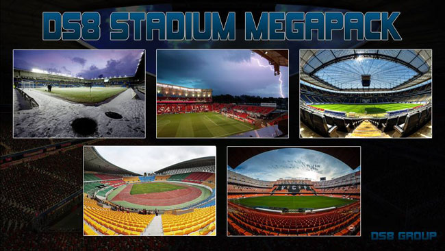 DS8 FM16 Stadium Backgrounds Megapack