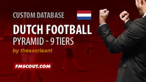 Netherlands Football Pyramid for FM15