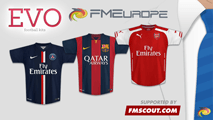 Evo Football Kits 2014-15 Megapack