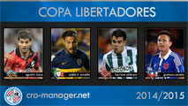 Exclusive '10 Facepack - Copa Libertadores pack added