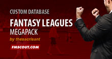 Fantasy Leagues Megapack for FM15 - NOT COMPATIBLE WITH 15.3