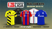 German Bundesliga kits 2014/15