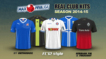 Croatian Prva HNL kits 2014/15
