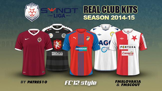 Чешская Synot Лига Наборы 2014/15