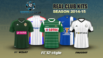Polish  Ekstraklasa kits 2014/15