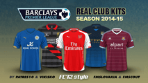 English Premier League kits 2014/15