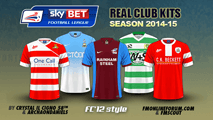 English League One kits 2014/15