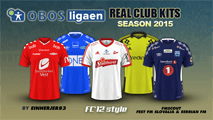 Norway Oddsenligaen Kits 2015