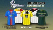Scottish Premiership kits 2014/15