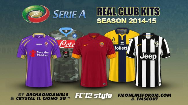FM 2015 Club Kits - Italian Serie A kits 2014 15 40c9ce123