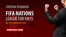 FIFA Nations League for FM15