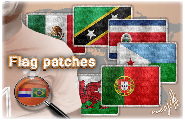 FM 2015 Misc Graphics - Patch Flags for Football Manager
