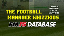 The Football Manager Whizzkids 2015 Transfer Database Update - 01/10/2015.