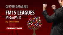 FM15 Megapack 75 Leagues by claassen