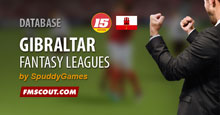 Gibraltar Fantasy Leagues for FM15