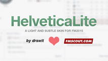 HelveticaLite Rebooted Skin for FM15 v1.0