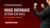 Huge Database option for FM15