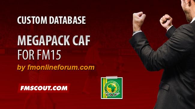 Megapack CAF for FM15   FM Scout