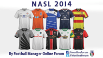North American Soccer League (NASL) SS Kits 2014