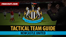 Newcastle United Tactical Guide for FM15