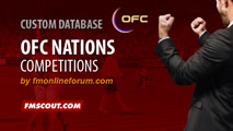 OFC Competitions for FM15