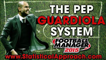 The Pep Guardiola Tactical System for FM15