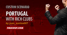 Portugal with richs clubs
