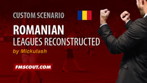 Romanian Leagues Reconstructed v3.0 + Winter Transfers