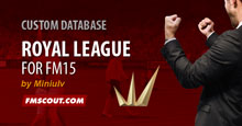 Royal League for FM15