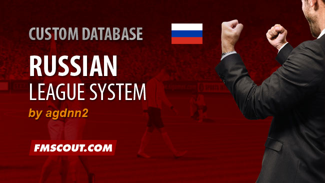 Russian Football League System for FM15