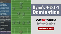 Ryan's 4-2-3-1 Domination