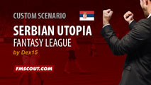 Serbian Utopia for FM15.3.1