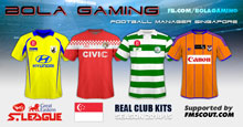 Singapore S-League SS Kits 14/15