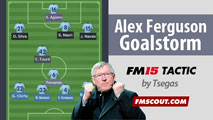 Sir Alex Ferguson's Asymmetric GoalStorm